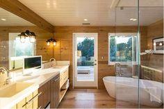 O banheiro de CIndy Crawford (Foto: Reprodução)