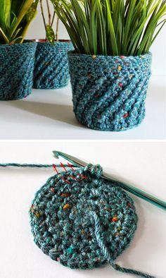 45 Best Creative Crochet Home Decoration Images On Pinterest