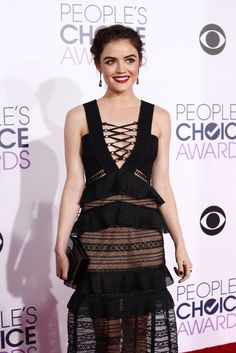 Lucy Hale | People's Choice Awards(2016) Tags: Lucy Hale, Pretty Little Liars, Aria Montgomery, PLL, ABC Family, Fashion