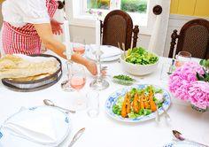 Fantastisk italienskinspirert mat på Lier Gård