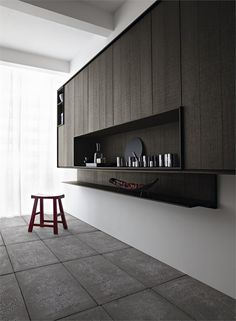 #kitchen with island KALEA by CESAR ARREDAMENTI | #design Gian Vittorio Plazzogna #interiors