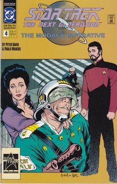 Star Trek The Next Generation The Modala Imperative #4 1991 DC Comics