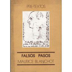 Falsos Pasos, Por Maurice Blanchot