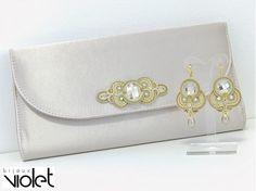 Golden Treasury II / Violet_bijoux - SAShE.sk - Handmade Náušnice