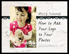 How to add a free logo to your photos
