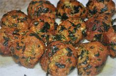 Mharo Rajasthan's Recipes - Rajasthan A State in Western India: Palak Paneer Kofta - Yum and Healthy too !!!
