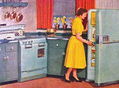 Frigidaire, Saturday Evening Post, 1954