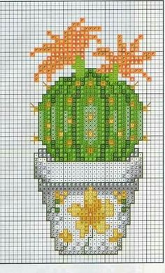 Cct Cactus Cross Stitch, Cross Stitch Tree, Cross Stitch Needles, Cross Stitch Flowers, Cactus Embroidery, Embroidery Patterns, Modern Cross Stitch Patterns, Cross Stitch Designs, Cross Stitching