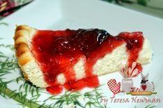 Torta de ricota com de geleia de Morango, Facil de fazer e delicia de comer. - Teretetê na Cozinha