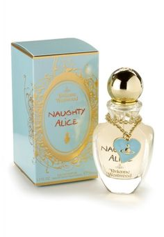 Naughty Alice VIVIENNE WESTWOOD 2010 (Violette fleur, rose - Ylang-ylang, notes poudrées - Muscs blancs, notes orientales)