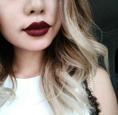 Dark Deep Lip Colours For Winter, check it out at http://makeuptutorials.com/winter-lipstick-shades/