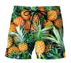 Pineapple swimshort – Smooooth clothing