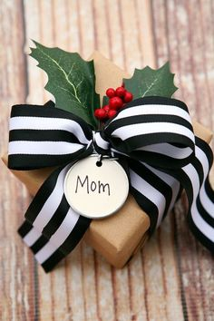 Christmas Gift Wrapping Ideas 28 #giftpackaging