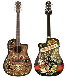 Fender T-Bucket 300-CE Vince Ray Voodoo - had to get it really...