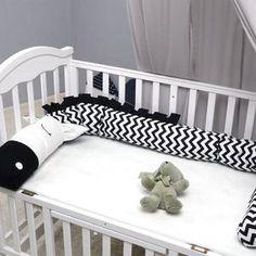 Aliya Zebra Bumper Keep Baby safe with these beautiful hand made Nordic bumper knot cushions. Bumper Pads For Cribs, Baby Bumper, Bed Bumpers, Bed Design, Pillow Design, Zebra Bedding, Best Crib, Baby Zebra, Baby Pillows