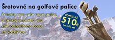 GOLF USA, kompletný sortiment golfového vybavenia pre začiatočníkov i pokročilých Zľava:10% VIP
