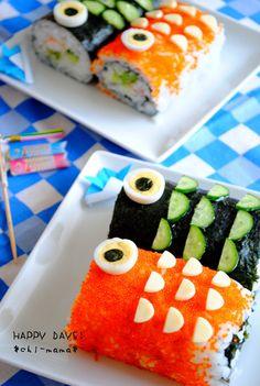 koinobori sushi for kid's day