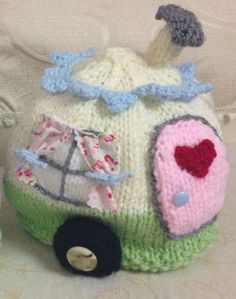 A Rosylea design, hand knitted in North Yorkshire. 4-6 cup tea cosy £23 each including recorded delivery p&p. Any colour available. www.facebook.com/RosyleaVintageHome
