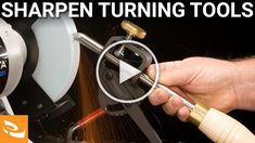 How to Sharpen Traditional Woodturning Tools on a Bench Grinder from Craft Supplies USA --- Learn how to properly sharpen your traditional woodturning tools on a bench grinder. Sharpening Tools, Lathe Tools, Wood Tools, Wood Lathe, Woodturning Videos, Woodturning Tools, Lathe Projects, Wood Turning Projects, Craft Projects