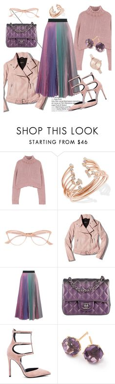 """Favorite Item: Pleated Skirt"" by elenzark ❤ liked on Polyvore featuring Kendra Scott, Dita, Mackage, Christopher Kane, Chanel, Kendall + Kylie, Ippolita and Michael Kors"
