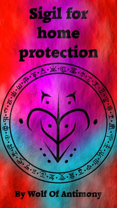 Sigil for home protection Requested by Wiccan Symbols, Magic Symbols, Spiritual Symbols, Symbols And Meanings, Wiccan Beliefs, Angelic Symbols, Paganism, Wiccan Spell Book, Wiccan Witch