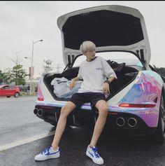 By Chii💨 Korean Boys Ulzzang, Cute Korean Boys, Ulzzang Boy, Asian Boys, Korean Fashion Men, Korean Men, Boy Fashion, Pretty Boys, Cute Boys