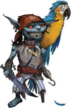 Ranzak, Goblin Pirate