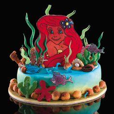 """Gâteaux d'anniversaire """"Petite Sirène"""""""