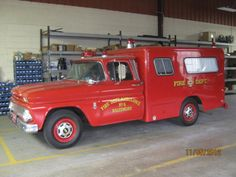 Baltimore City, MD FD Old Ambulance 6 - 1963 Chevy/Swab.