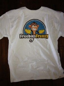 Freebies Frenzy Free T-Shirt Giveaway