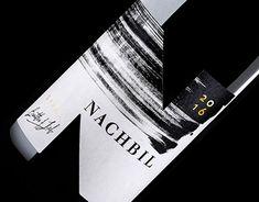 Nachbil, monochrome label design http://be.net/gallery/64902927/Monochrome-label-design