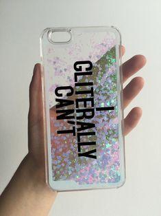 Super funda transparente con glitter ♥ ♡ ♥ ♡