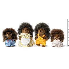Hedgehog Family Sylvanian Teen Children- A large selection of Toys and Hobbies on Smallable, the Family Concept Store - More than 600 brands.