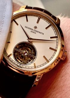 Luxury Watches, Rolex Watches, Watches For Men, Male Outfits, Vacheron Constantin, Gold Watch, Men Fashion, Supreme, Accessories
