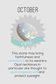 October Opal Birthstone