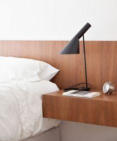 Louis Poulsen AJ Table Lamp (http://www.nest.co.uk/product/louis-poulsen-aj-table-lamp) Inside The Private World Of Felipe Hess | Yatzer
