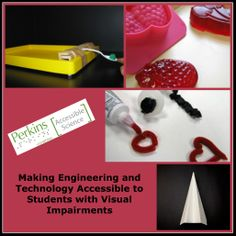 Activities and resources for making Engineering and Technology accessible to students with visual impairments