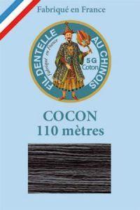 Fil couleur pour dentelle Cocon Calais dégradé 6925 Cachou