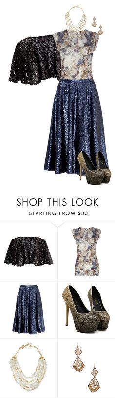 """""""Untitled #1017"""" by pholtond on Polyvore featuring Ariella, Karen Millen, Slate & Willow, Sequin and Suzanna Dai"""
