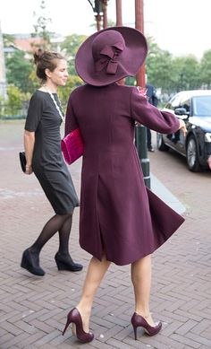 Queen Maxima of The Netherlands leaves after opening the 10th International Hands On! Conference on children's education in museums at the Rijksmuseum on October 13, 2015 in Amsterdam, Netherlands.