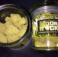 "Source: 420weedmart.com  Kurupt's Moonrock is dedicated to providing the strongest cannabis medicine products in the galaxy. Our proprietary C02 extraction process provides quality, consistency, and the ability to serve specific conditions with appropriate dosage. A Moon Rock is a celestial bud of strain specific bud, drenched in CO2 oil, and then coated in a heavy layer of ""sicdust"" (or kief). This cosmic blend boasts a THC percentage of roughly 52 percent."