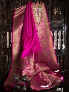 Sacred Weaves - Shop for Exquisite Banarasi Sarees Online Indian Bridal Sarees, Bridal Silk Saree, Indian Silk Sarees, Organza Saree, Indian Beauty Saree, Saree Wedding, Bengali Saree, Bollywood Saree, Bollywood Fashion