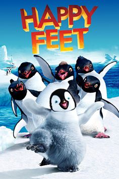 Happy Feet is Adventure, Animation movie . Movie features Lombardo Boyar, Robin Williams, Johnny A.