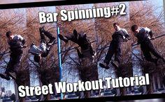 Tutorial #15 Bar Spinning#2 / kręcenie na drążku tyłem - Street Workout podstawy