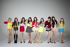 Girls' Generation: Varsity Socks, Dots, etc. Snsd, Yoona, Sooyoung, Korean Fashion Pastel, Korean Fashion Teen, Kpop Fashion, Kpop Girl Groups, Korean Girl Groups, Kpop Girls