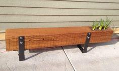 Wooden Beam Bench