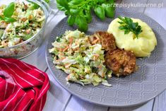 Surówka kopenhaska Potato Salad, Cauliflower, Good Food, Food And Drink, Potatoes, Cooking Recipes, Nutrition, Dinner, Vegetables