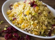 Couscous, Greens Recipe, Foods With Gluten, Lactose Free, Fried Rice, Chefs, Grains, Lunch, Diet