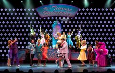 Hairspray brings big hair and bigger entertainment! #BroadwayAtSea