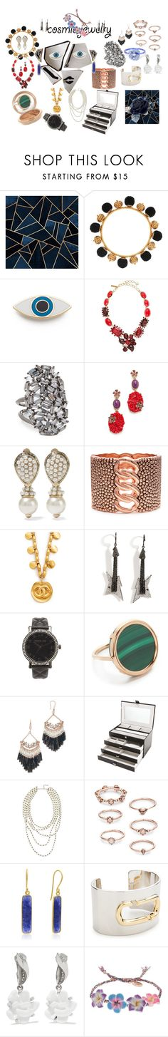 """""""Cosmic Jewelry!"""" by lalu-papa ❤ liked on Polyvore featuring Mariah Carey, Dolce&Gabbana, Georgia Perry, Oscar de la Renta, Theia Jewelry, Valentino, Lynn Ban, Michael Kors, Ginette NY and Kenneth Jay Lane"""